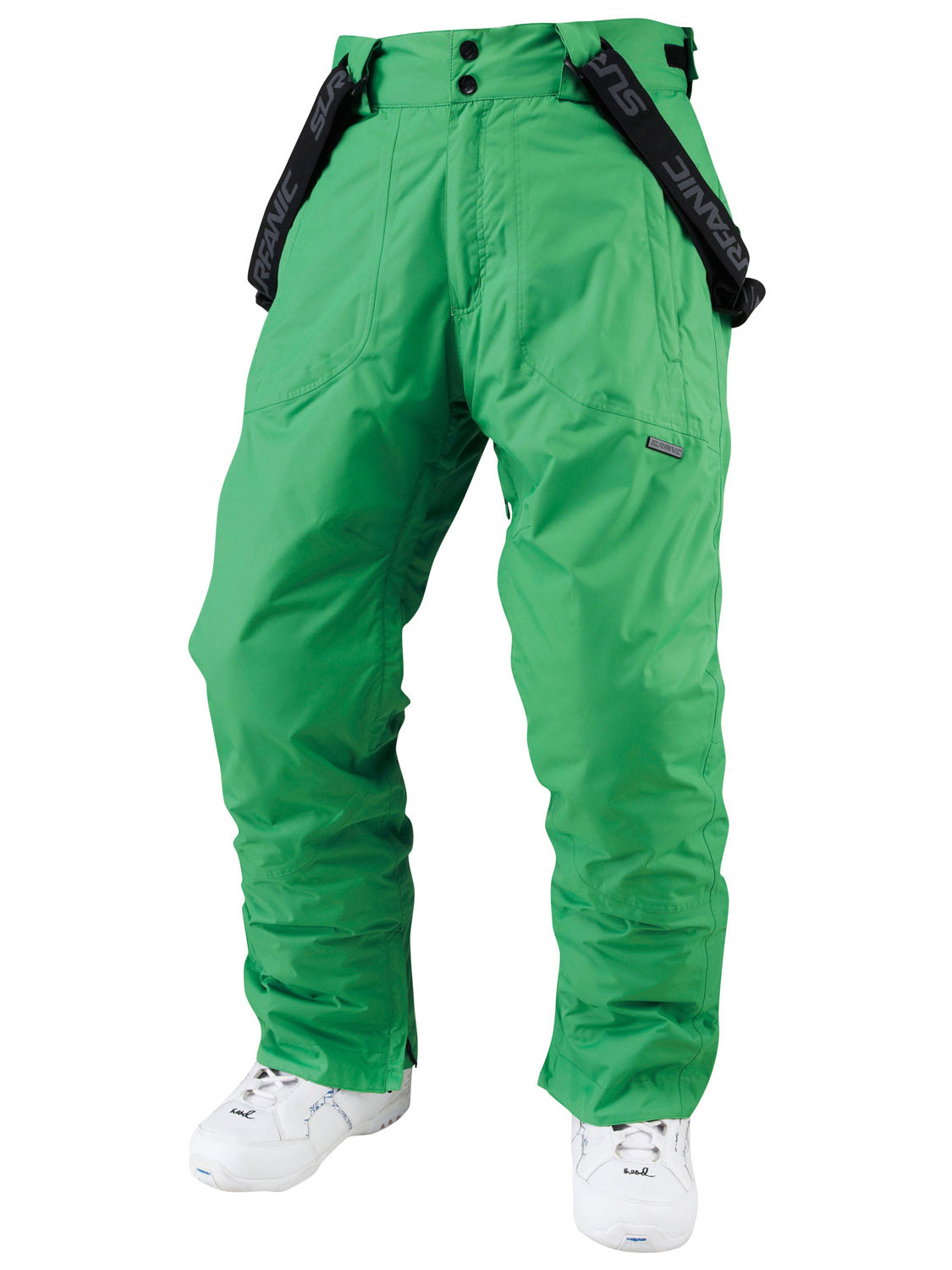 Surfanic Mens Ski Pants Salopettes Trousers Bottoms Green New ... 7a25f2f45