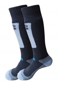 Mens Endurance Merino 2 Pack Ski Sock Black