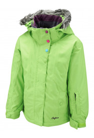 Girls Vela Surftex Jacket Yellow