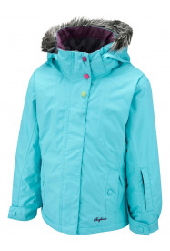 Girls Vela Surftex Jacket Turquoise