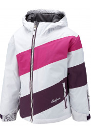 Girls Cosmos Surftex Jacket White