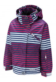 Girls Starlight Banded Stripe Jacket Pink