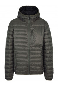 Mens Flame Down Jacket Green