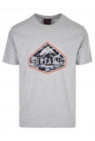 Mens Diamond T-shirt Grey