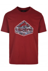 Mens Diamond T-shirt Red