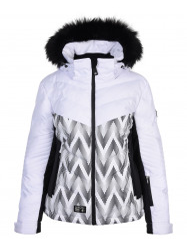 Womens Mercury Hypadri Ski Jacket White