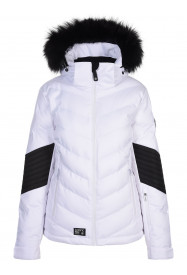Womens Mercury Hypadri Jacket White