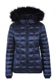 Womens Shimmer Recycled Insulation Blue