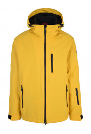 Mens Apex Hypadri Ski Jacket Yellow