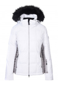 Womens Zeta Surftex Ski Jacket White