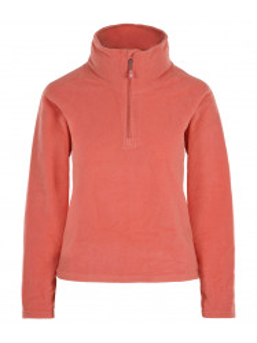 Womens Recycled Warm Zip Micro Fleece Pink