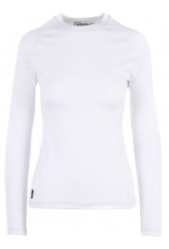 Womens Cozy Crewneck White