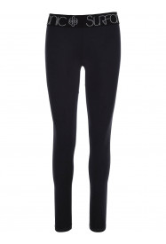 Womens Cozy Long John Black