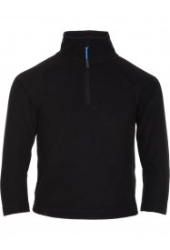 Boys Thermal Zip Micro Fleece Black