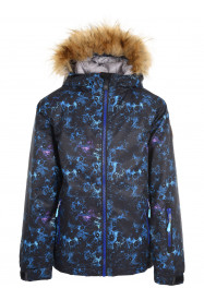 Girls Onyx Surftex Ski Jacket Blue
