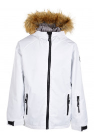 Girls Diamond Surftex Jacket White