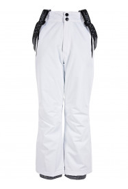 Girls Sparkle Surftex Ski Pant White