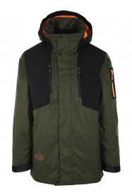 Mens Venture Hypadri Ski Jacket Green