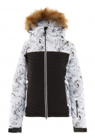 Womens Crystalline Hypadri Ski Jacket White