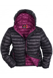 Girls Dove Lightweight Down Jacket Black