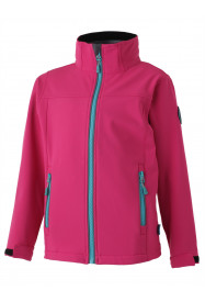 Girls Izzy Softshell Jacket Pink