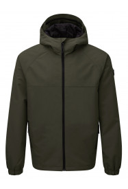 Mens Rampart Windcheater Jacket Green