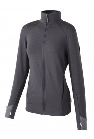 Womens Scully Full Zip Fleece Grey