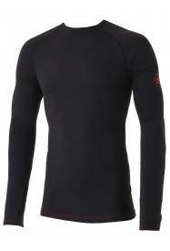 Mens Jonah Crew Neck Baselayer Black