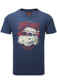 Mens Campillar T- Shirt Blue