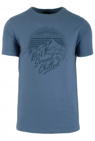 Mens Chilled T -shirt Blue
