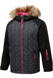 Girls Cosmo Surftex Ski Jacket Black