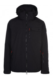 Mens Missile Surftex Ski Jacket Black