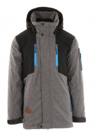 Mens Venture Hypadri Ski Jacket Grey