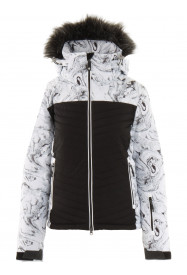 Womens Crystalline Hypadri Jacket White