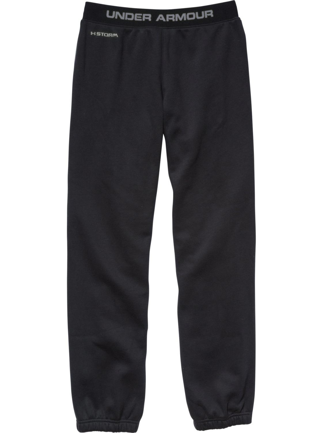 Black//Steel Under Armour Junior Storm Charged Cotton Transit Pant