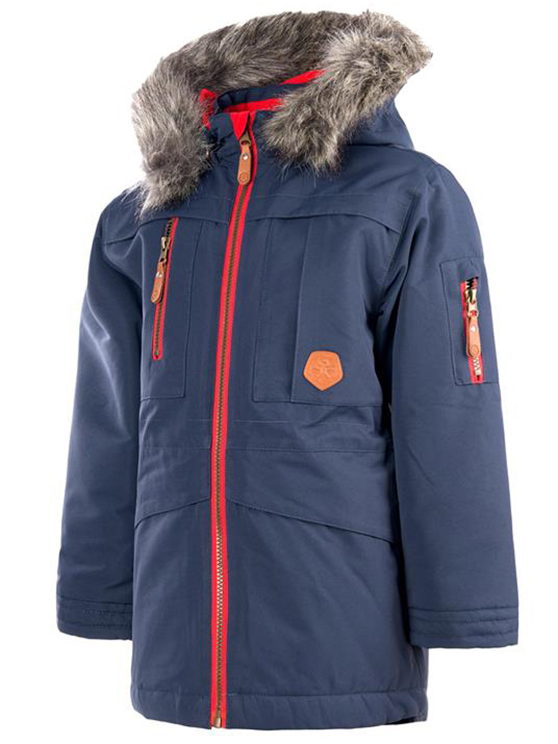 Color Kids Sakata Parka Coat Blue Winter Parker Jacket New Kids ...