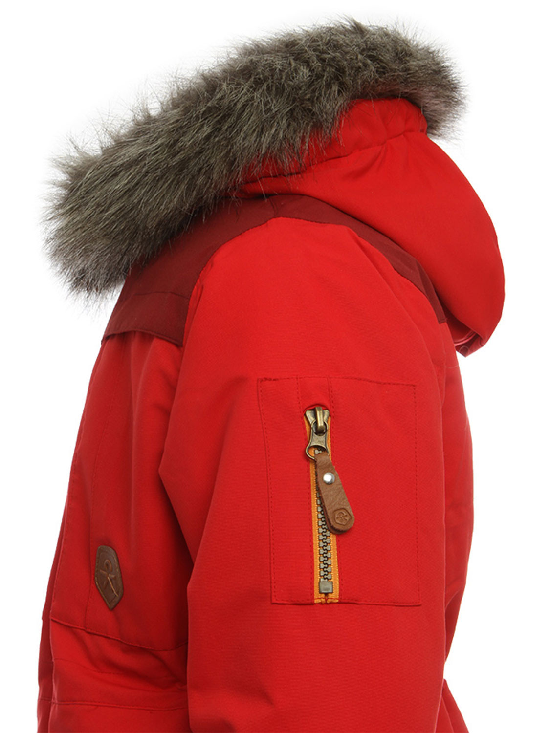 Color Kids Sakata Parka Coat Red Winter Parker Jacket New Kids ...