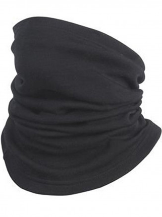 Mens Womens Neck Warmer Black