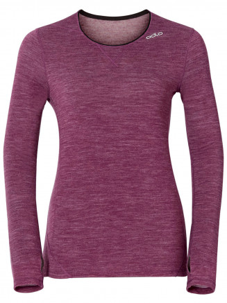 Womens Revolution L/s Crew Neck Pink