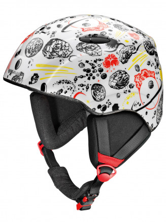 Boys Joker Helmet White