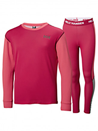 Mens Womens Lifa Active Set Red