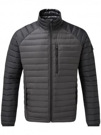 Mens Beck Down Jacket Grey