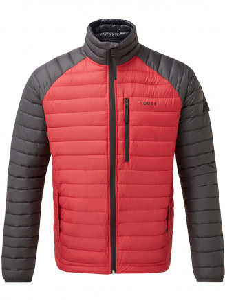 Mens Beck Down Jacket Red