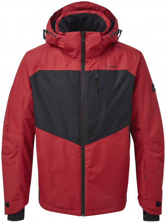 Mens Blade Waterproof Insulated Ski Jacket Red