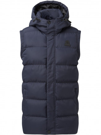 Mens Caliber Insulated Gilet Blue
