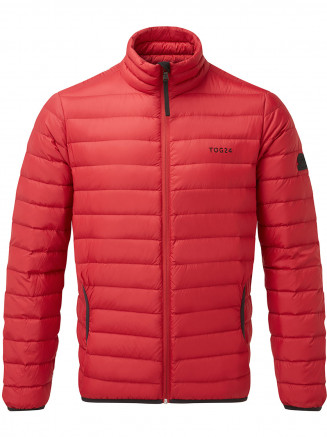 Mens Elite Down Jacket Red
