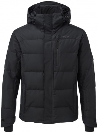 Mens Gunby Down Filled Ski Jacket Black
