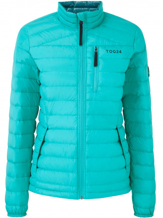 Womens Prime Down Jacket Turquoise