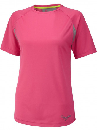 Womens Performance Sports T Shirt Pink