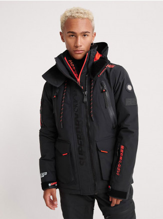 Mens Ultimate Snow Rescue Jacket Black